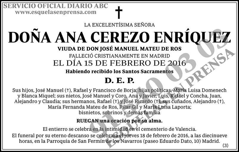 Ana Cerezo Enríquez
